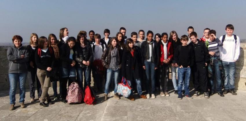 Un séjour organisé dans le cadre d'un projet latin-occitan./Photo DDM