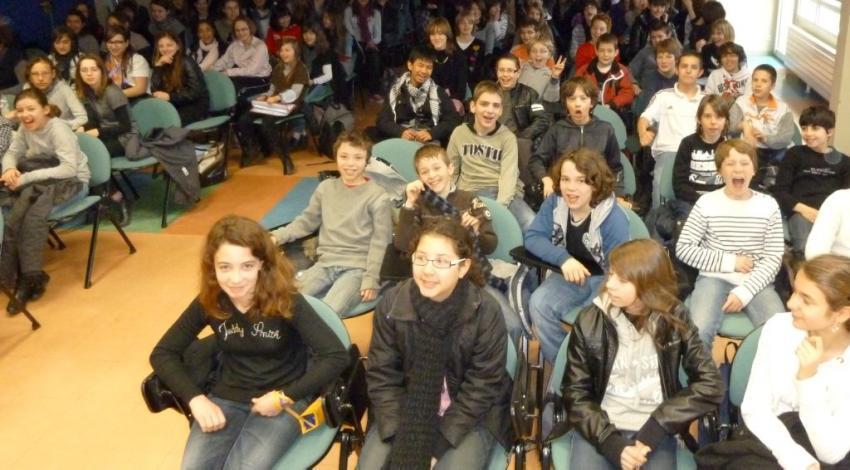 Marcillac-Vallon. Concert des chorales et orchestre scolaires